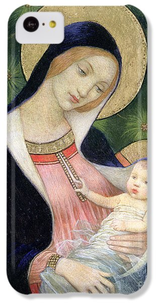 Madonna Of The Fir Tree IPhone 5c Case by Marianne Stokes