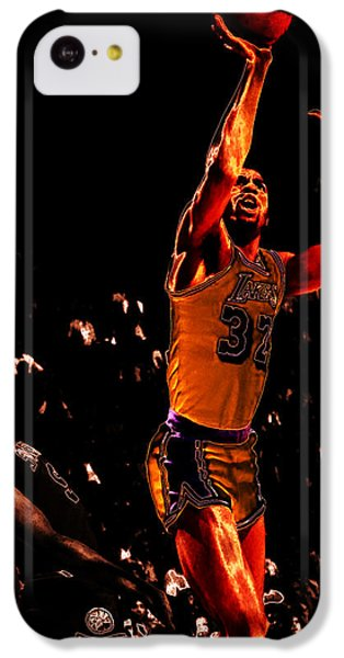 Magic Johnson Lean Back II IPhone 5c Case by Brian Reaves