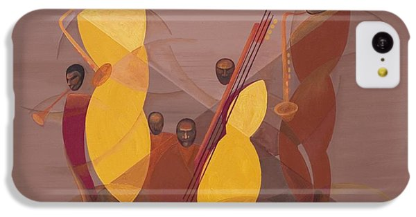 Mango Jazz IPhone 5c Case by Kaaria Mucherera