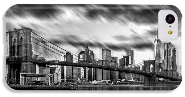 Manhattan Moods IPhone 5c Case by Az Jackson