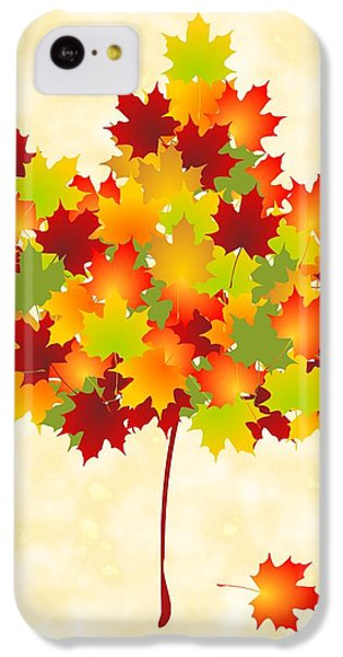 Maple Leaves IPhone 5c Case by Anastasiya Malakhova