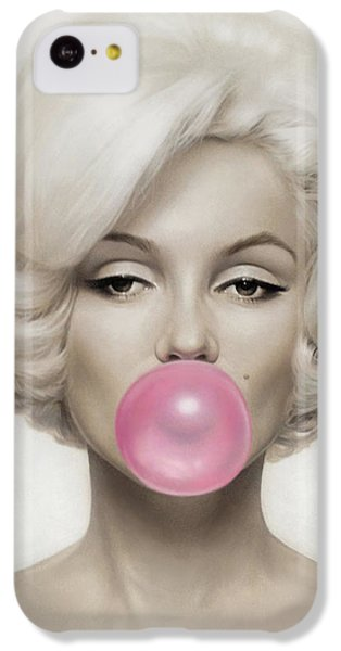 Marilyn Monroe IPhone 5c Case by Vitor Costa