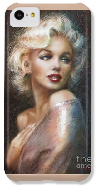 Marilyn Ww Soft IPhone 5c Case by Theo Danella