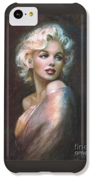 Marilyn Ww  IPhone 5c Case by Theo Danella