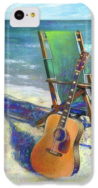 Martin Goes To The Beach IPhone 5c Case by Andrew King