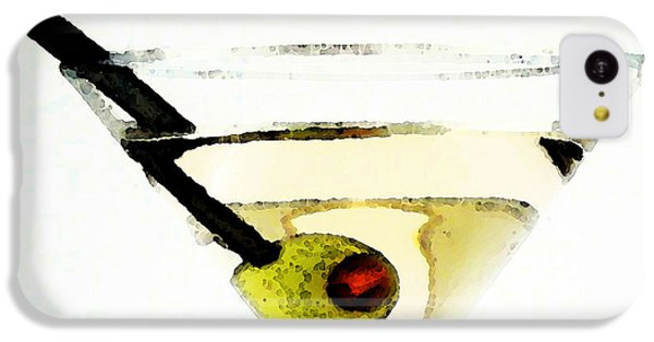 Martini With Green Olive IPhone 5c Case by Sharon Cummings
