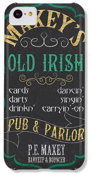 Maxey's Old Irish Pub IPhone 5c Case by Debbie DeWitt