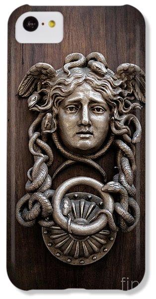 Medusa Head Door Knocker IPhone 5c Case by Edward Fielding