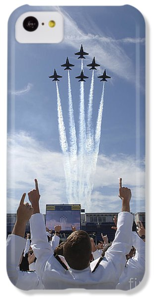 Members Of The U.s. Naval Academy Cheer IPhone 5c Case by Stocktrek Images