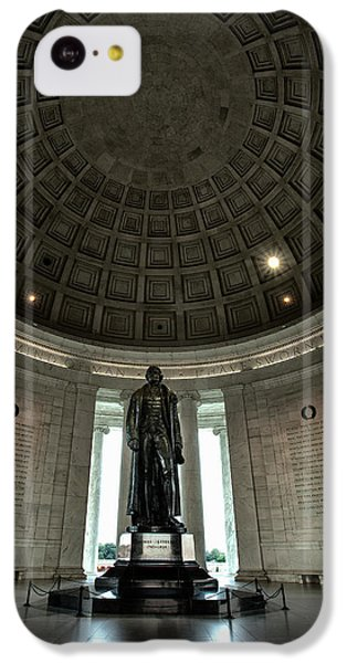 Memorial To Thomas Jefferson IPhone 5c Case by Andrew Soundarajan