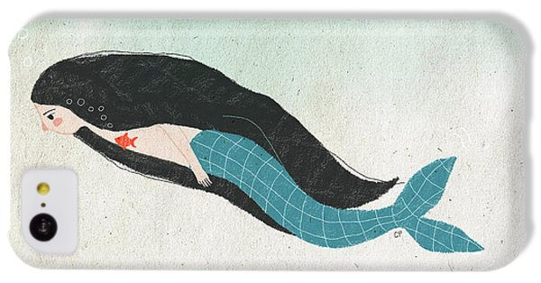 Mermaid IPhone 5c Case by Carolina Parada