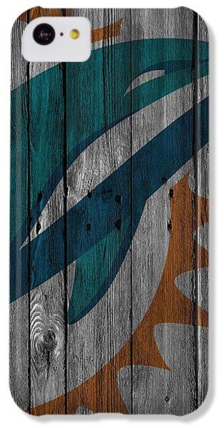 Miami Dolphins Wood Fence IPhone 5c Case by Joe Hamilton