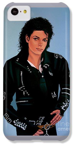 Michael Jackson Bad IPhone 5c Case by Paul Meijering