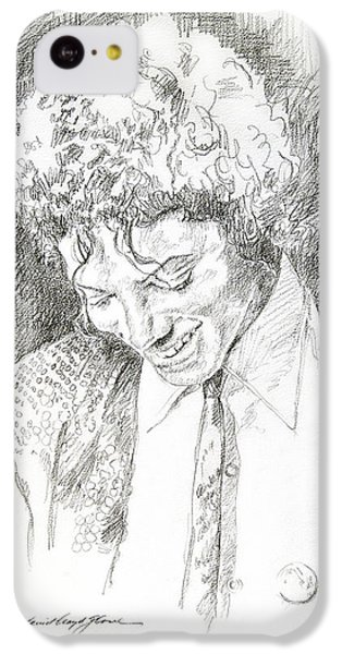 Michael Jackson - Remember The Time IPhone 5c Case by David Lloyd Glover