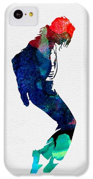 Michael Watercolor IPhone 5c Case by Naxart Studio