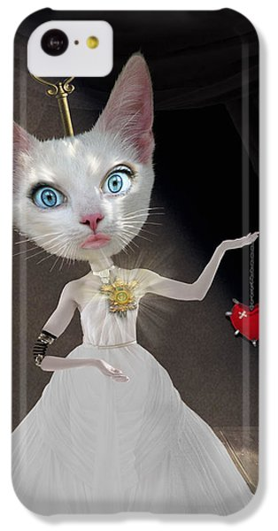 Miss Kitty IPhone 5c Case by Juli Scalzi