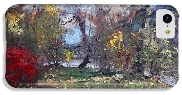 Mixed Weather In A Fall Afternoon IPhone 5c Case by Ylli Haruni
