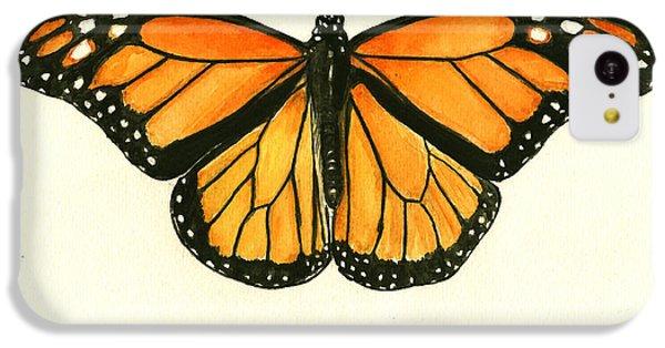Monarch Butterfly IPhone 5c Case by Juan Bosco