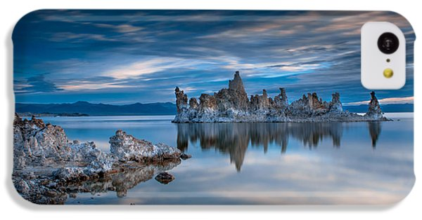 Mono Lake Tufas IPhone 5c Case by Ralph Vazquez