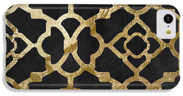 Moroccan Gold IIi IPhone 5c Case by Mindy Sommers