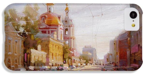Moscow. Staraya Basmannaya Street IPhone 5c Case by Ramil Gappasov