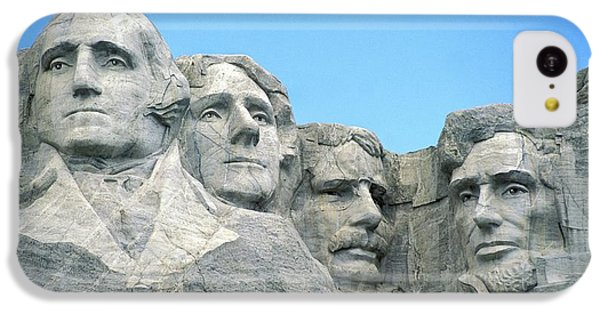 Mount Rushmore IPhone 5c Case by American School