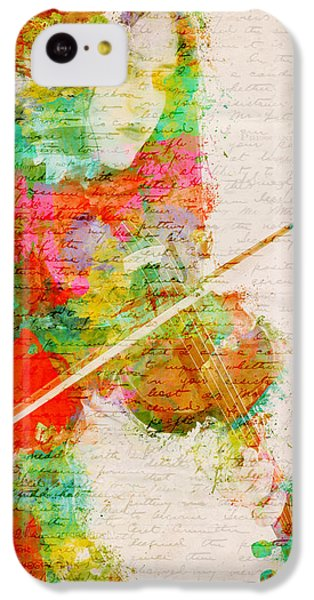 Music In My Soul IPhone 5c Case by Nikki Smith