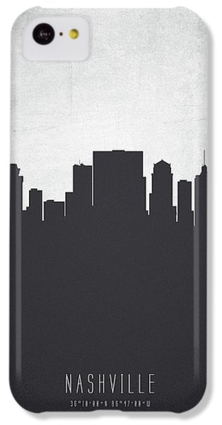 Nashville Tennessee Cityscape 19 IPhone 5c Case by Aged Pixel
