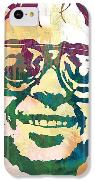 Neil Young Pop Stylised Art Poster IPhone 5c Case by Kim Wang