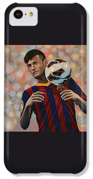 Neymar IPhone 5c Case by Paul Meijering