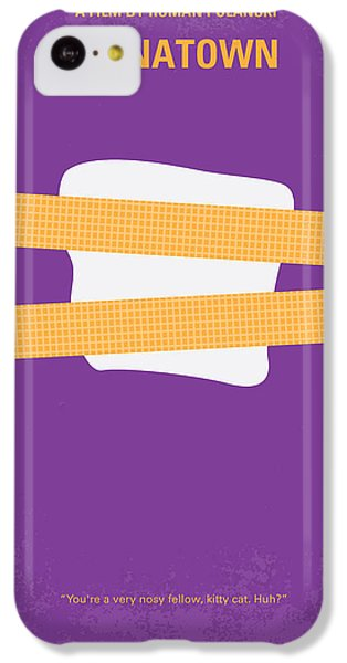 No015 My Chinatown Minimal Movie Poster IPhone 5c Case by Chungkong Art