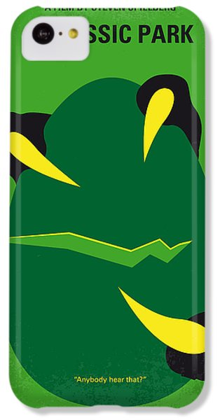 No047 My Jurassic Park Minimal Movie Poster IPhone 5c Case by Chungkong Art