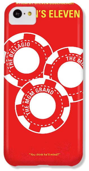 No056 My Oceans 11 Minimal Movie Poster IPhone 5c Case by Chungkong Art