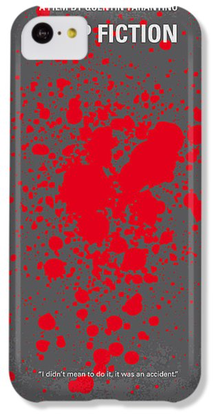 No067 My Pulp Fiction Minimal Movie Poster IPhone 5c Case by Chungkong Art