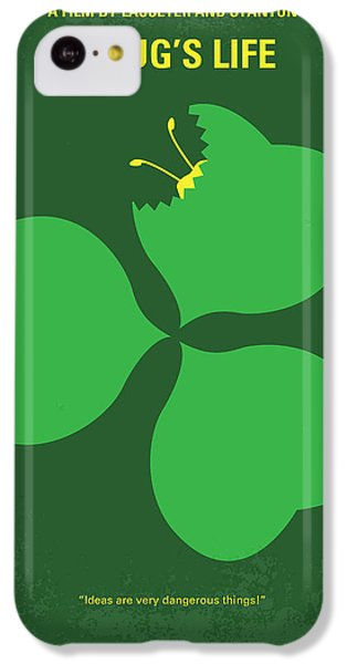 No401 My A Bugs Life Minimal Movie Poster IPhone 5c Case by Chungkong Art