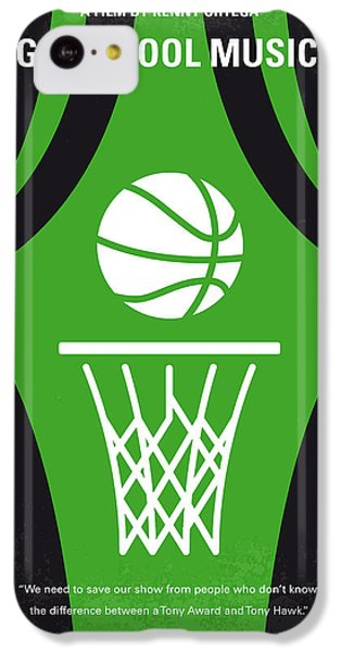 No633 My High School Musical Minimal Movie Poster IPhone 5c Case by Chungkong Art