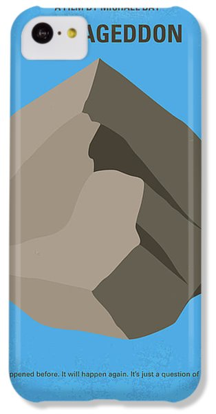 No695 My Armageddon Minimal Movie Poster IPhone 5c Case by Chungkong Art