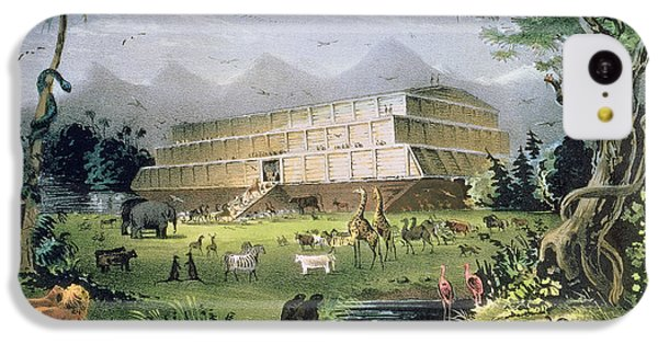 Noahs Ark IPhone 5c Case by Currier and Ives