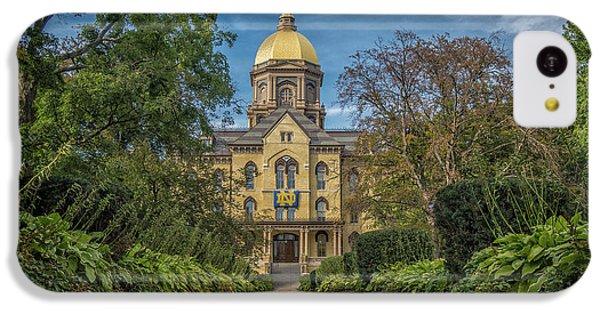 Notre Dame University Q1 IPhone 5c Case by David Haskett