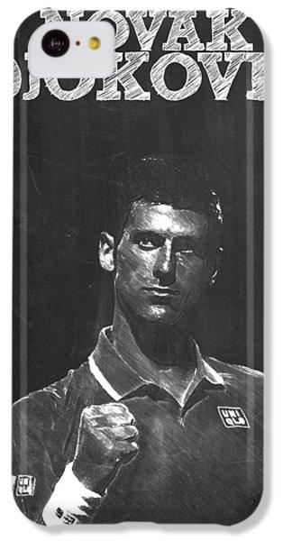 Novak Djokovic IPhone 5c Case by Semih Yurdabak