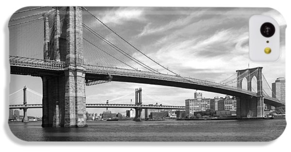Nyc Brooklyn Bridge IPhone 5c Case by Mike McGlothlen