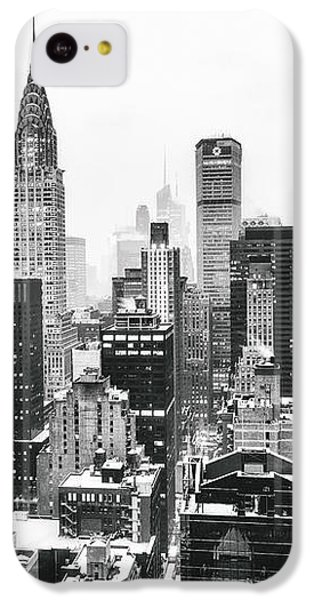 Nyc Snow IPhone 5c Case by Vivienne Gucwa