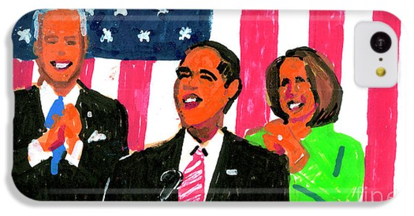 Obama's State Of The Union '10 IPhone 5c Case by Candace Lovely