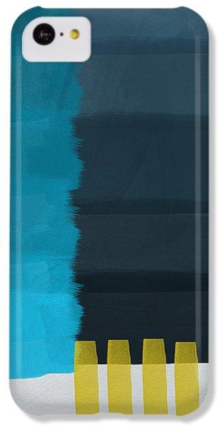 Ocean Front Walk- Art By Linda Woods IPhone 5c Case by Linda Woods
