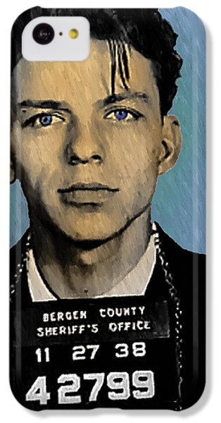 Old Blue Eyes - Frank Sinatra IPhone 5c Case by Bill Cannon