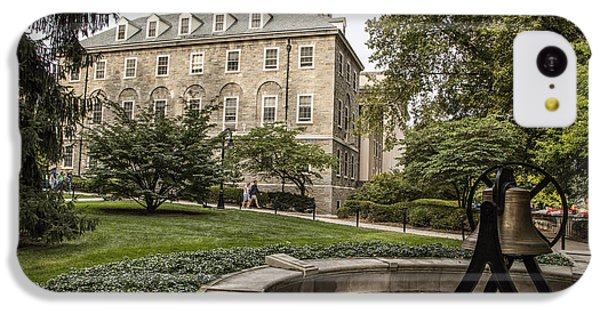 Old Main Penn State Bell  IPhone 5c Case by John McGraw