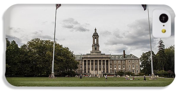 Old Main Penn State Wide Shot  IPhone 5c Case by John McGraw
