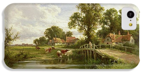 On The Thames Near Marlow IPhone 5c Case by Henry Parker