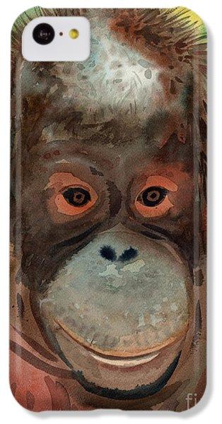 Orangutan IPhone 5c Case by Donald Maier
