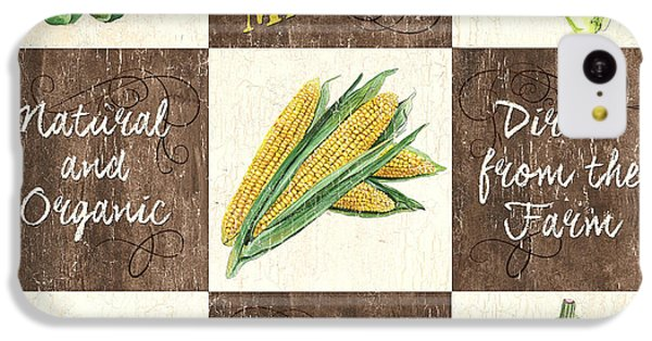 Organic Market Patch IPhone 5c Case by Debbie DeWitt
